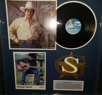 George Strait Vintage Album With Signed Photo 202//189