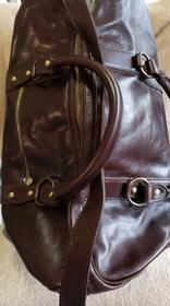 Leather Duffle Bag 156//280