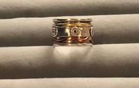 Sterling Silver Spinner Ring 202//128