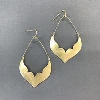 Gold Tone Cut Out Earrings 202//202