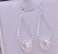 Sterling Silver Love Knot Earrings 202//189