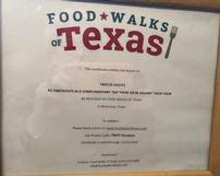 Food Walks of Texas 202//161