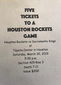 Houston Rockets Basketball Game 202//280