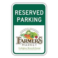 Reserved Parking Spot at the Farmers Market 202//202