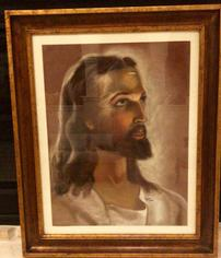 HEAD OF CHRIST JESUS OF NAZARETH BY REGINA BAHAIA