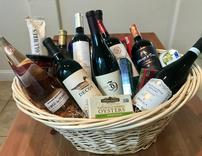 BIG WINE BASKET NUM 10