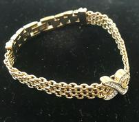 ELEGANT GOLD COLOR BRACELET