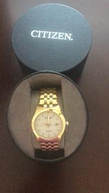 Men's Citizen gold watch