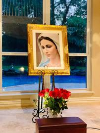 Wonderfull Madjugorje virgin frame for your home. 202//269