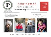 Christmas photo mini sessions by Paulina Macouzet 202//145