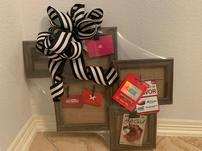 Beautiful Frames with six differents gift cards.  202//151
