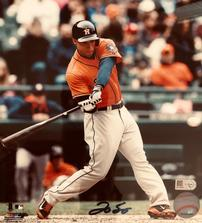 Signed Photograph of George Springer, Houston Astro 202//223