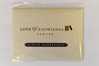 2 Year Membership to Love of Knowledge Center