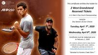 Fayez Sarofim & Co. US Men's Clay Court Championship Tickets 202//114