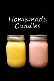 Cinnamon Apple & Honeysuckle Handmade Candles 187//280