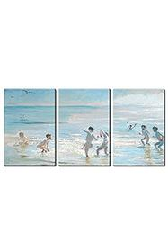 Reproduction Boys Bathing on a Summer Evening at Skagen Beach 187//280
