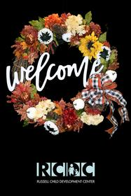 Fall Welcome Wreath 187//280