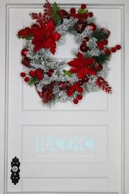 Christmas Joy Wreath 187//280