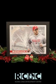Autographed Poster of Scott Frost, Nebraska Coach 187//280
