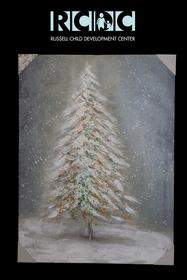 Natural Christmas Tree Print 187//280