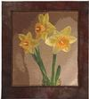 Quilt # 13,766 - Three Daffodils
