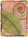 Quilt # 14,049 - Leaf and Frond //132